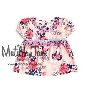 Matilda Jane fanciful floral tunic NWOT